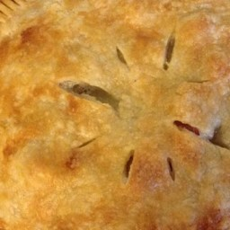 Pineapple-Rhubarb Pie