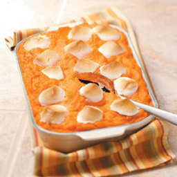 Pineapple Sweet Potato Casserole with Marshmallows Recipe