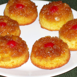 Pineapple Upside Down Cakes