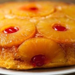 Pineapple Upside-Down Skillet Cake