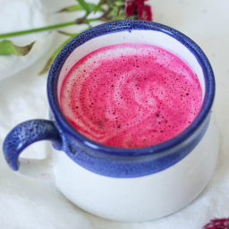 Pink Beet Latte
