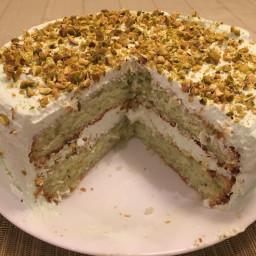 Pistachio Cake - EASY