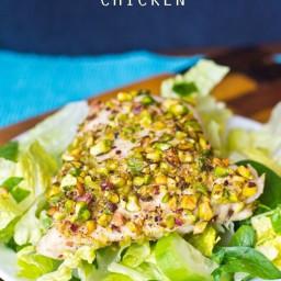 Pistachio Crusted Chicken
