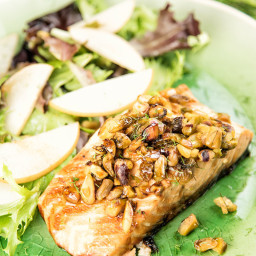 Pistachio-Crusted Salmon Recipe