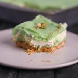 Pistachio Icebox Cake