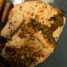 Pistachio Paprika Flattened Chicken