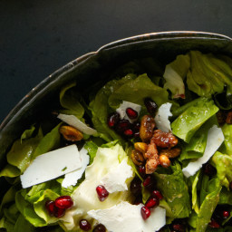 Pistachio-Pomegranate Chopped Salad