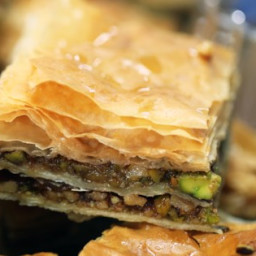 Pistachio-Walnut Baklava Recipe