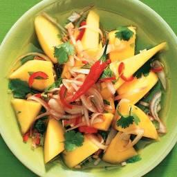 Pittige mangosalade
