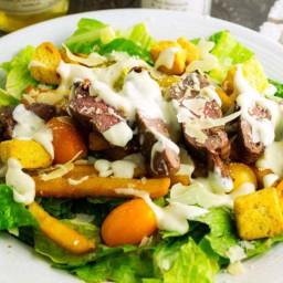 Pittsburgh Steak Salad #SundaySupper