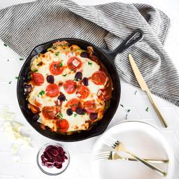 Pizza Chicken Skillet (Keto, Gluten-free) — Foodborne Wellness