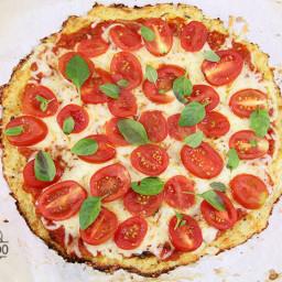 Pizza de Couve Flor {vídeo}