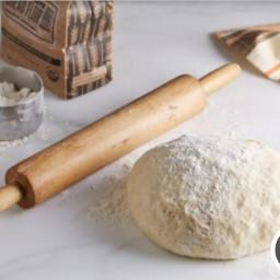 Pizza Dough-Kitchen Aid mixer