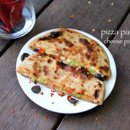 pizza paratha recipe