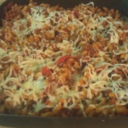 Pizza Skillet Hot Dish