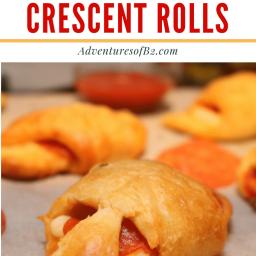 Pizza Stuffed Crescent Rolls