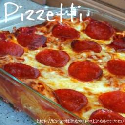 Pizzetti [Pizza and Spaghetti Casserole]