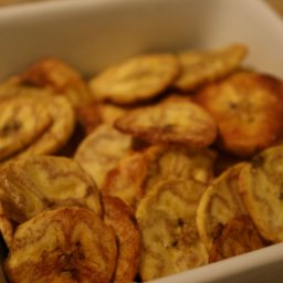 Plantain Chips-lightened