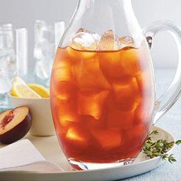 Plum-Thyme Iced Tea