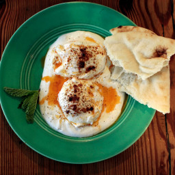 Poached Eggs With Mint and Yogurt