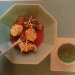 Poached Fish with Miso