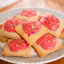 Pocket Pastries with Raspberry Jam