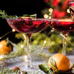 Poinsettia Spritz Punch