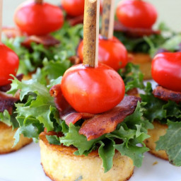 Polenta BLT Appetizers