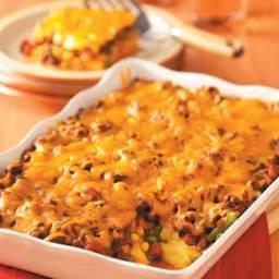 Polenta Chili Casserole Recipe