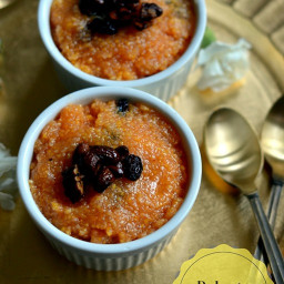 Polenta Kesari ~ Indian Style Polenta Sweet Pudding | Gluten Free