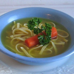 Polish Chicken Soup With Noodles Recipe Is Easy To Make