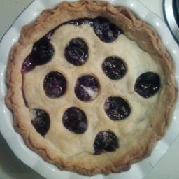 Polka Dot Cherry Pie