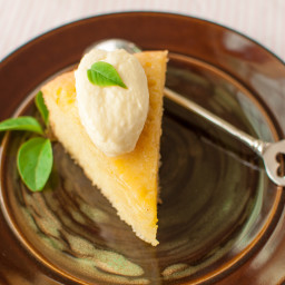 Poll Winner: Sticky Lemon Cake
