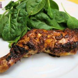 Pollo a la talla - Grilled chicken talla-style