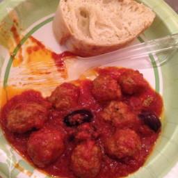 Polpette al Sugo (Meatballs with Tomato Sauce)
