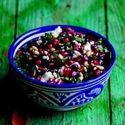 Pomegranate and Queso Fresco Salsa