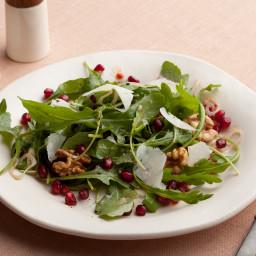 Pomegranate, Arugula Salad