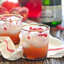 Pomegranate Champagne Sangria