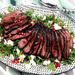 Pomegranate-Marinated Fullblood Wagyu Bottom Round Steak