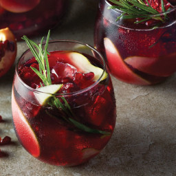 Pomegranate-Pear Sangrias