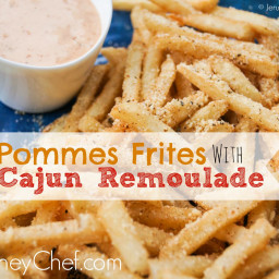 Pommes Frites with Cajun Remoulade - Cafe Orleans