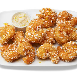 Popcorn-Crusted Popcorn Shrimp
