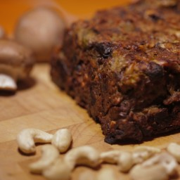 Porcini and Cashew Nut Roast