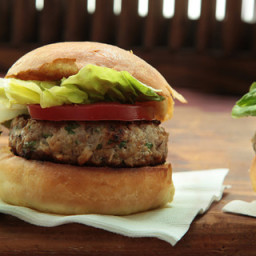 Pork and Apple Burger (turkey)