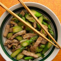 Pork and Asparagus Stir-fry (Low Sodium)