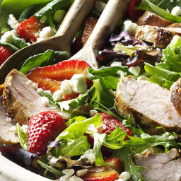 Pork and Balsamic Strawberry Salad Recipe