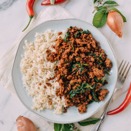 Pork and Holy Basil Stir-fry (Pad Kra Pao)