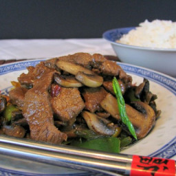 Pork and Mushroom Stir Fry Recipe