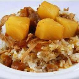 Pork and Pineapple Teriyaki over Rice