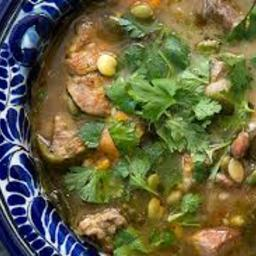 Pork and Poblano Stew